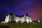 Night view of The Magdalena Palace in  Santander, Cantabria, Spa — Stock Photo