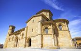 The Romanesque Church of Fromista on the way to Santiago, Palenc — Foto Stock