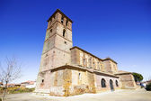 Romanesque Church of Quintanadiez, a village of Palencia, Castil — Foto de Stock