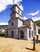 Kyrkan av oseja de sajambre i leon, spanien — Stockfoto
