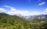 View of Valley of Valdeon in the north of Leon, Castilla - Leon, — Стоковое фото