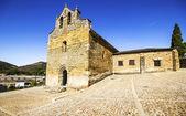 Romanesque church of Santiago in Villafranca del Bierzo (Camino  — Stockfoto