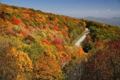 Cherohala Skyway in Autumn — Foto Stock