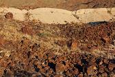 Vulkanische rotsen — Stockfoto
