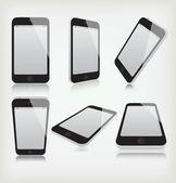 Set phone — Stock Vector