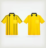 Vector yellow jerseys — Stock Vector