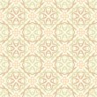 Stock Vector: Beige wallpaper pattern