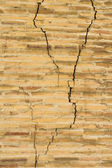 Old wall crack — Stock Photo