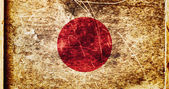 Grunge Flag of Japan — Stock Photo