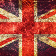 United Kingdom grunge flag — Stock Photo #36311307