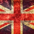 Stock Photo: United Kingdom grunge flag