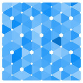 Abstract blue tiles background — Stock Vector