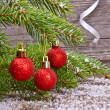 Christmas tree branches — Stock Photo #34235563