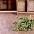 Stock Photo: Thyme sprigs