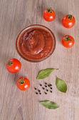 Rajčatová omáčka — Stock fotografie