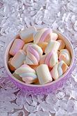 棉花糖 — 图库照片