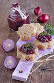 Onion marmalade — Стоковое фото