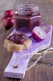 Onion marmalade — Stock Photo