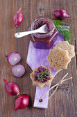 Onion marmalade — Stockfoto