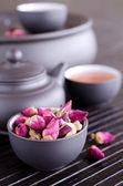 Dried rosebuds — Stock Photo