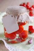 Conservas de tomate — Foto Stock