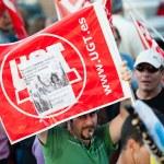 Spanish strike — Stock Photo