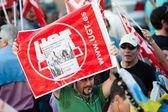 Hiszpański strajk — Zdjęcie stockowe