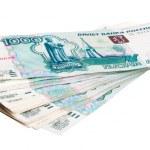 Russian money — Stock Photo #12623969