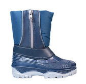 Children rubber boot — Stock Photo