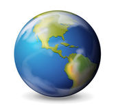 Blue marble - Earth — Stock Vector