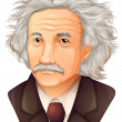 Albert Einstein — Stock Vector