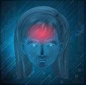 Cranial — Stock Vector