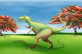 Giganotosaurus — Stock Vector