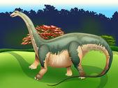 Apatosaurus — Stock Vector