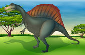 The Spinosaurus — Stock Vector