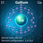 Gallium — Stock Vector