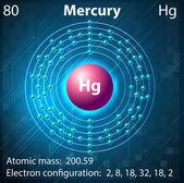 Mercury — Stock Vector