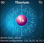 Thorium — Stock Vector