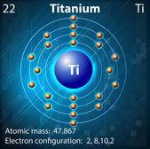 Titanium — Stock Vector