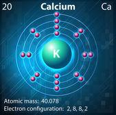Calcium — Stock Vector