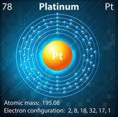 Platinum — Stock Vector