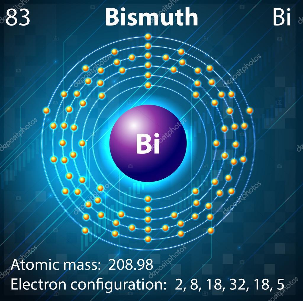 Bismuth Stock Vector 169 Blueringmedia 30667381