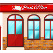 Stock Vector: Post office