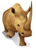 A hippopotamus — Stock Vector