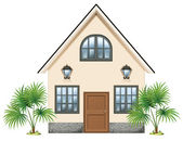A simple house — Stock Vector