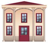 A very big house — Stock Vector
