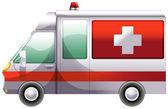 An ambulance — Stock Vector