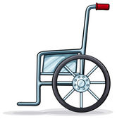 A wheelchair — Stock Vector
