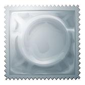 A condom — Stock Vector