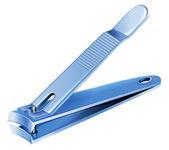 A blue nail clipper — Stock Vector